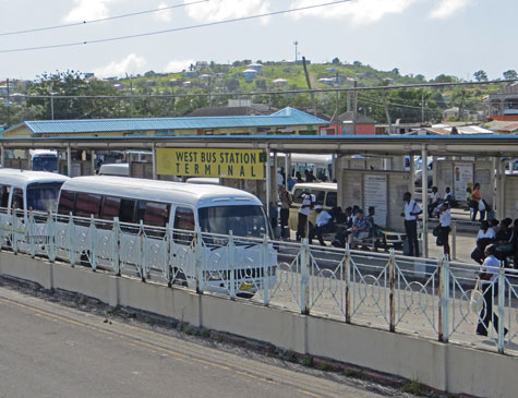 West Bus Station Terminal, St. John's, Antigua