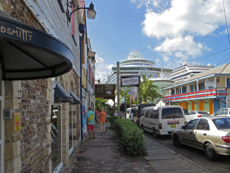 Access to St. John from the Cruise Terminal
