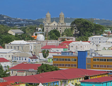 St. John's Cathedral in Antigua